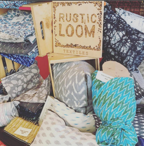 rustic loom handmade, ethically sourced clothing fashion housewares