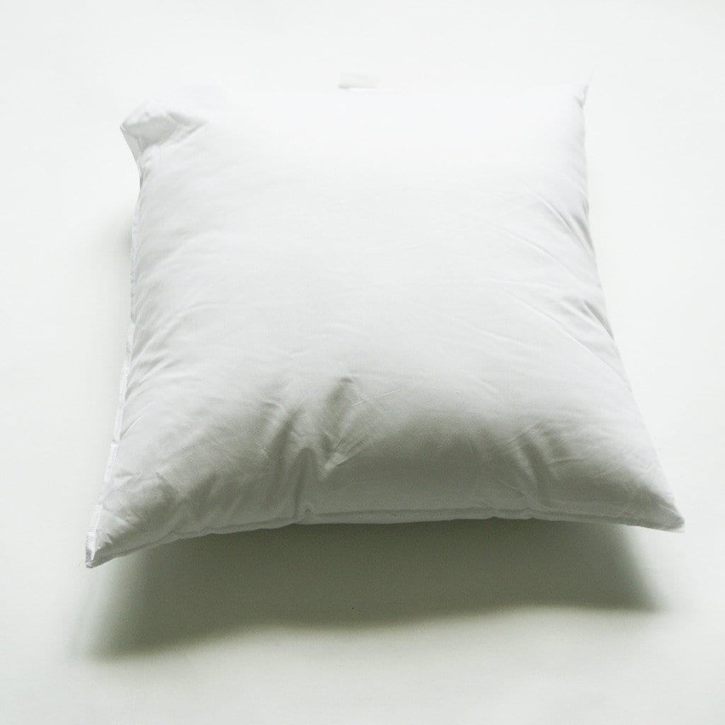 Faux Down 24 X 24 Square Pillow Insert For 22 X 22 Pillow Covers