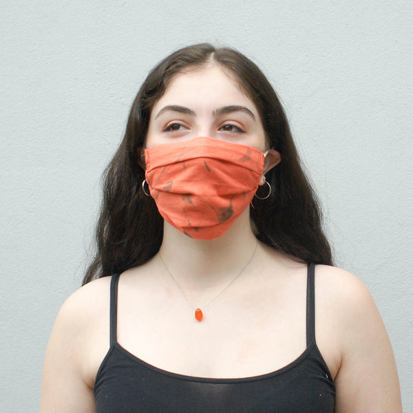 Hand Dyed + Woven Face Mask