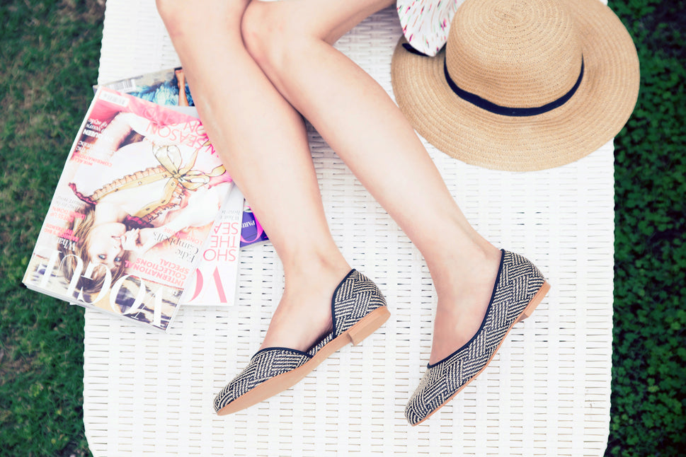 Roni Kantor's shoes are handmade from 100% vegan materials.