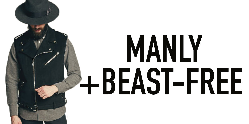 Manly and Beast-Free, Unicorn Goods Vegan Menswear