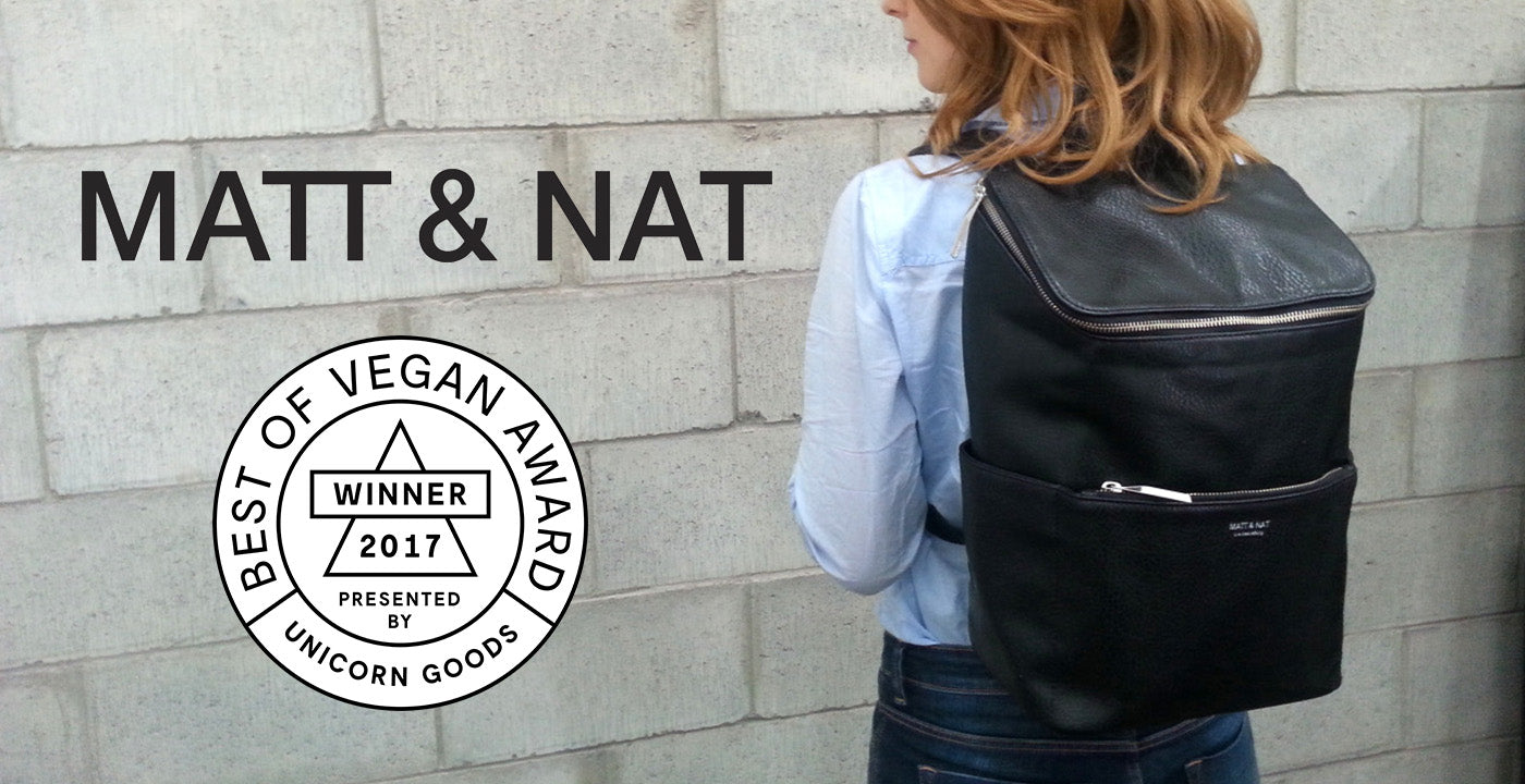 Best of Vegan Awards™ Matt & Nat 2017 Winner of Company of the Year
