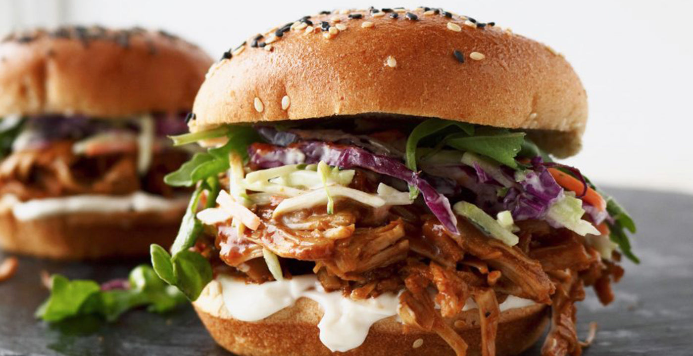 Pulled BBQ Jackfruit Sandwiches by Plant Based Blonde