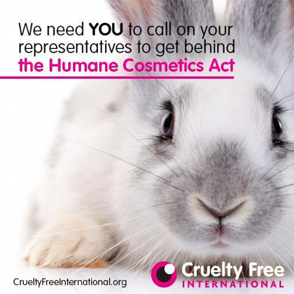 The Humane Cosmetics Act, Cruelty Free International