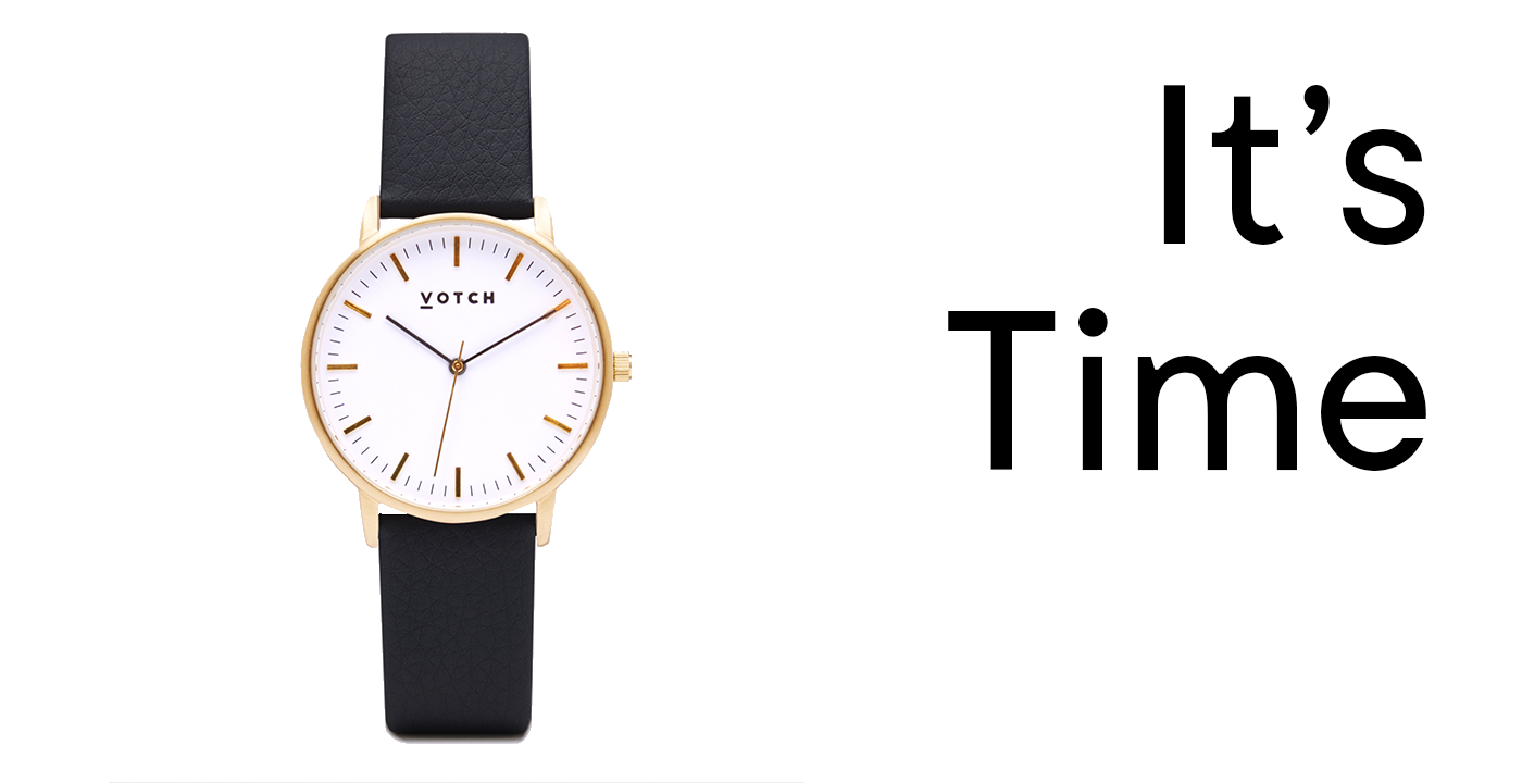 It's Time - Vegan Watches