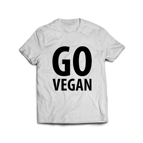 Wear Vegan GO vegan T-shirt