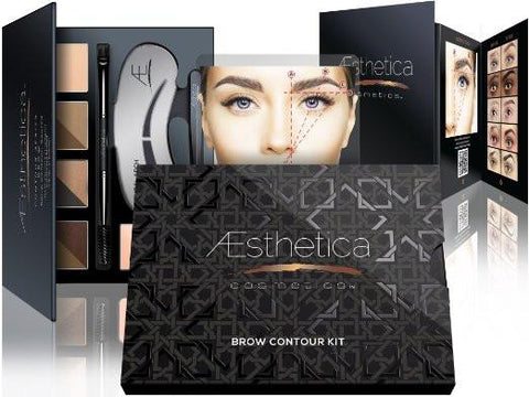 Aesthetica Cosmetics Brow Contour Kit-Makeup - Face-Aesthetica-Unicorn Goods