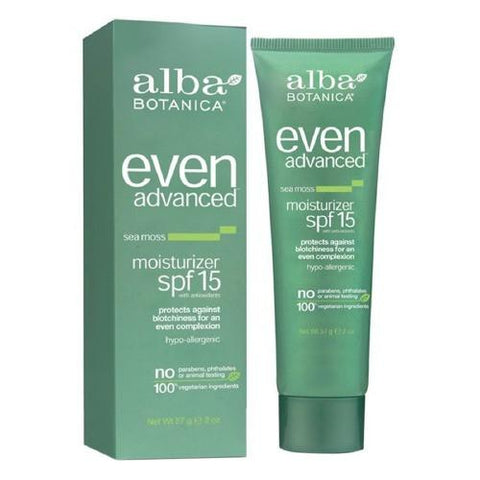 Alba Botanica Even Advanced SPF 15 Moisturizer-Unisex Skincare-Alba Botanica-Unicorn Goods
