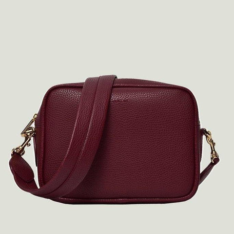 Angela Roi Grace Crossbody in Bordeaux-Womens Purse-Angela Roi-Unicorn Goods