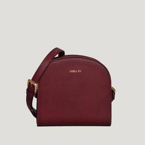 Angela Roi Luna Crossbody Bag in Bordeaux-Womens Purse-Angela Roi-Unicorn Goods