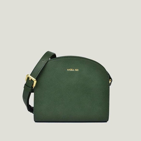 Angela Roi Luna Crossbody Bag in Dark Green-Womens Purse-Angela Roi-Unicorn Goods