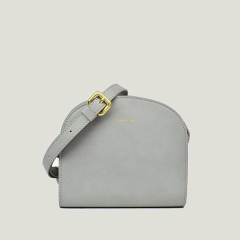Angela Roi Luna Crossbody Bag in Light Gray-Womens Purse-Angela Roi-Unicorn Goods