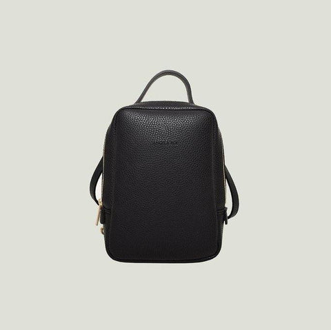 Angela Roi Mia Mini Backpack in Black-Womens Backpack-Angela Roi-Unicorn Goods