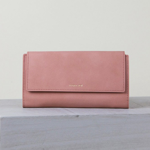 Angela Roi Olivia E Wallet in Dusty Rose-Womens Wallet-Angela Roi-Unicorn Goods