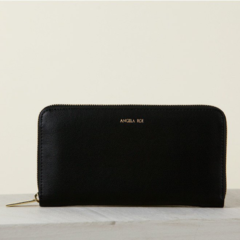 Angela Roi Olivia Z Wallet in Black-Womens Wallet-Angela Roi-Unicorn Goods