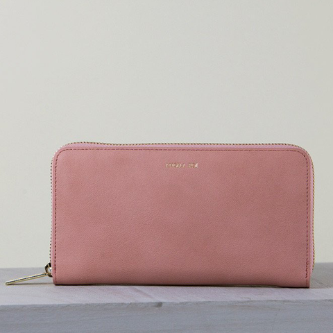 Angela Roi Olivia Z Wallet in Dusty Rose-Womens Wallet-Angela Roi-Unicorn Goods