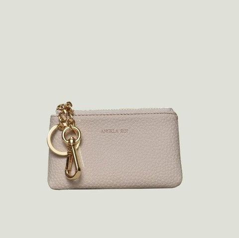 Angela Roi Zuri Card Pouch in Cloud-Womens Wallet-Angela Roi-Unicorn Goods