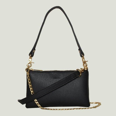 Angela Roi Zuri Multi-Function Pouch in Black-Womens Purse-Angela Roi-Unicorn Goods