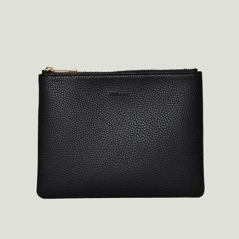 Angela Roi Zuri Travel Pouch in Black-Womens Clutch-Angela Roi-Unicorn Goods