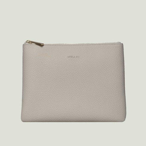 Angela Roi Zuri Travel Pouch in Cloud-Womens Clutch-Angela Roi-Unicorn Goods