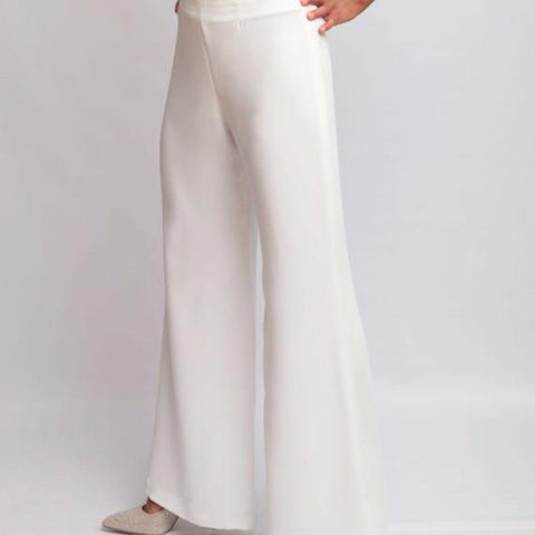 Annaborgia Kats Pants in White-Womens Pants-Annaborgia-Unicorn Goods