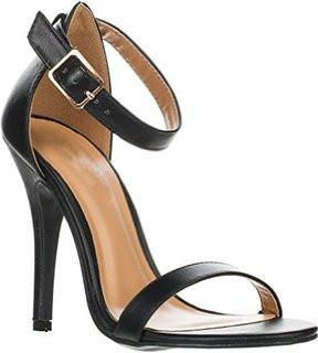 4210eee4b40f Anne Michelle Strap Open Toe Stiletto High Heel