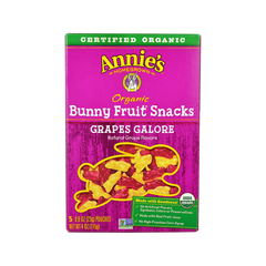 Annie's Homegrown Organic Bunny Fruit Snacks - Grapes Galore-Candy-Food-Unicorn Goods