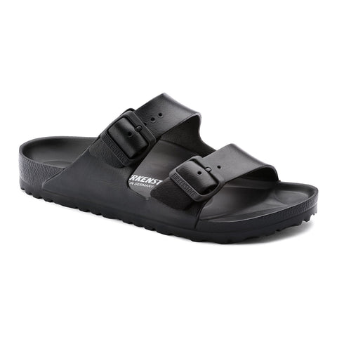 Birkenstock Arizona Essentials Sandals in Black-Unisex Sandals-Birkenstock-Unicorn Goods