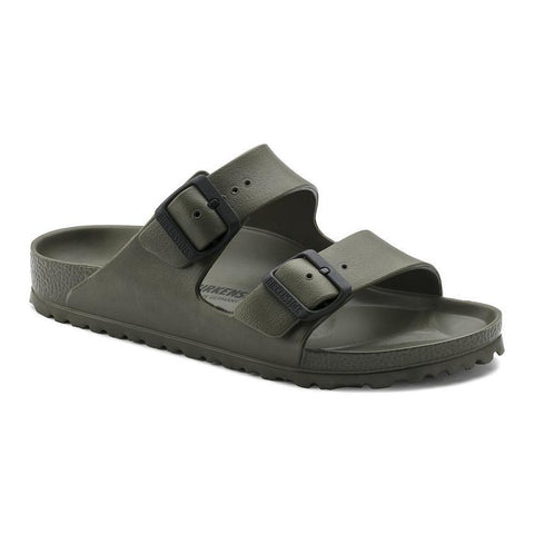 Birkenstock Arizona Essentials Sandals in Khaki-Unisex Sandals-Birkenstock-Unicorn Goods