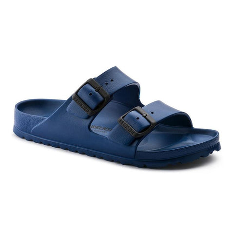 Birkenstock Arizona Essentials Sandals in Navy-Unisex Sandals-Birkenstock-Unicorn Goods