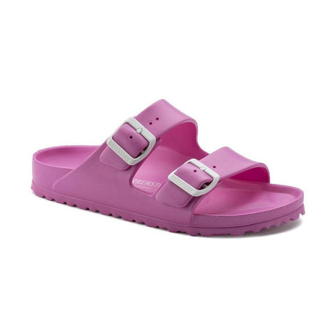 Birkenstock Arizona Essentials Sandals in Neon Pink-Unisex Sandals-Birkenstock-Unicorn Goods