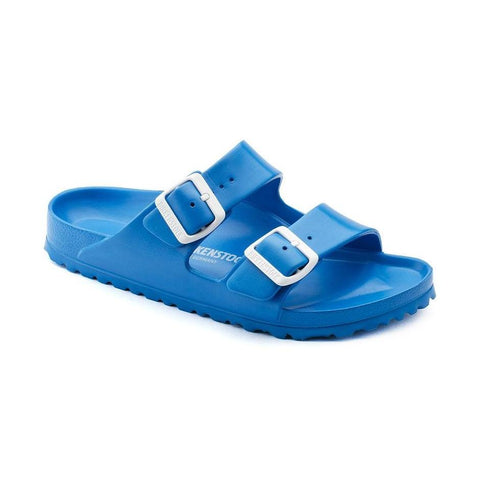 Birkenstock Arizona Essentials Sandals in Scuba Blue-Unisex Sandals-Birkenstock-Unicorn Goods