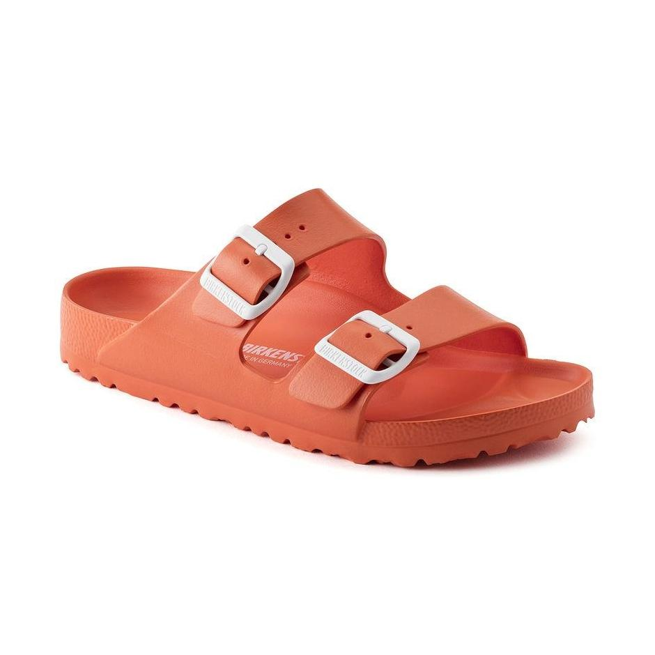 Birkenstock Arizona Essentials Sandals in Scuba Coral-Unisex Sandals-Birkenstock-Unicorn Goods