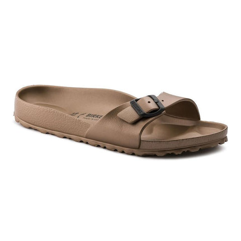 Birkenstock Madrid Slide Sandals in Copper-Womens Sandals-Birkenstock-Unicorn Goods