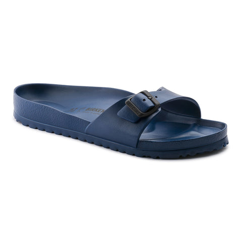 Birkenstock Madrid Slide Sandals in Navy-Womens Sandals-Birkenstock-Unicorn Goods