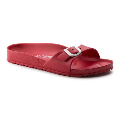 Birkenstock Madrid Slide Sandals in Red-Womens Sandals-Birkenstock-Unicorn Goods