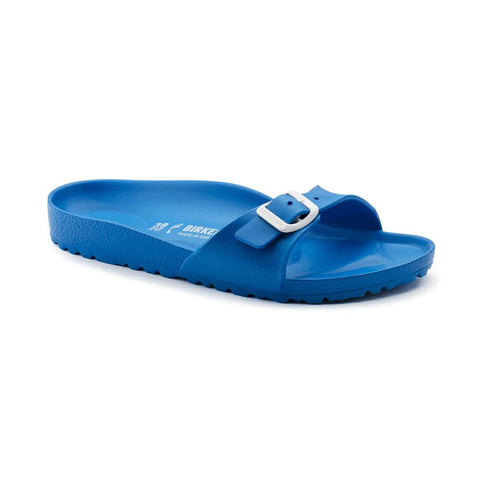 Birkenstock Madrid Slide Sandals in Scuba Blue-Womens Sandals-Birkenstock-Unicorn Goods