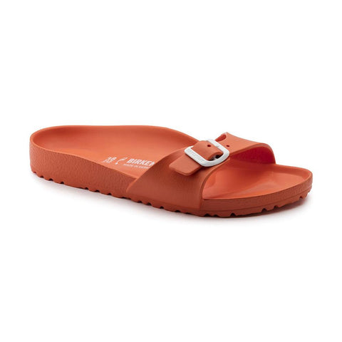 Birkenstock Madrid Slide Sandals in Scuba Coral-Womens Sandals-Birkenstock-Unicorn Goods