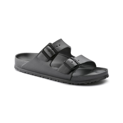 Birkenstock Vegan Arizona Sandals in Anthracite-Unisex Sandals-Birkenstock-Unicorn Goods