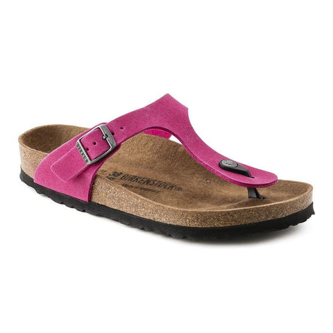 Birkenstock Vegan Gizeh Sandals in Pink-Unisex Sandals-Birkenstock-Unicorn Goods