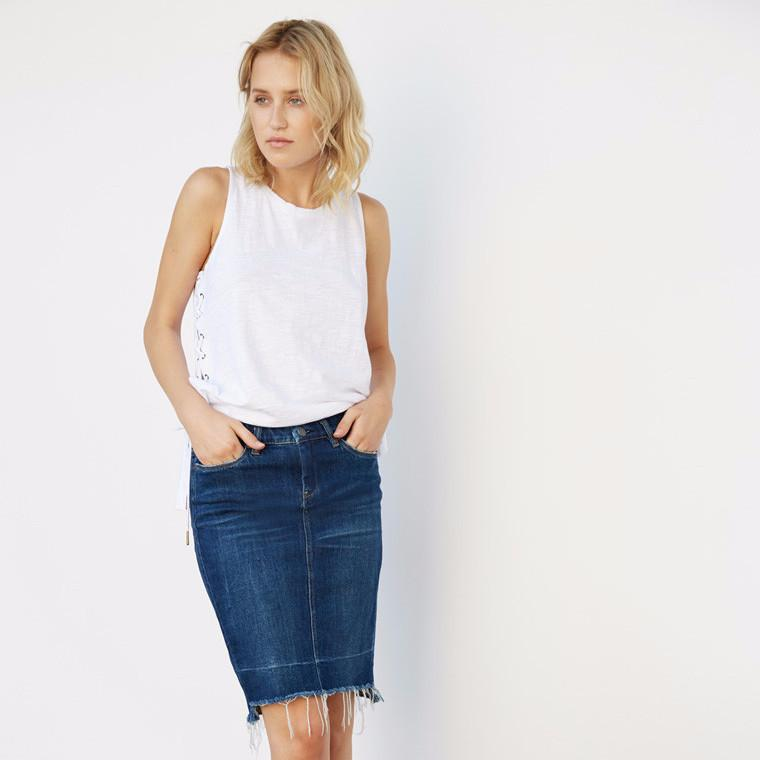 BlankNYC Amateur Hour Skirt-Womens Skirt-BlankNYC-Unicorn Goods