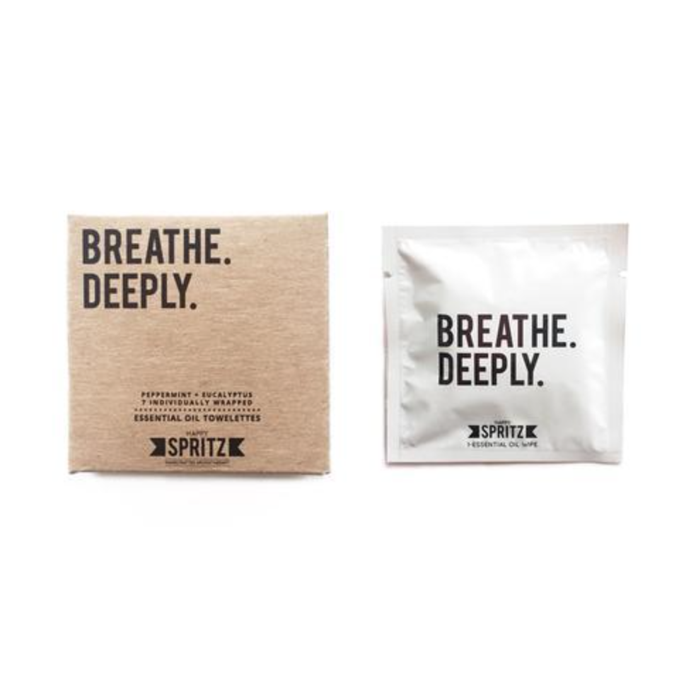 Breathe Deeply Essential Oil Towelettes (7 Day Box)-Unisex Skincare-Amanda Jay-Unicorn Goods
