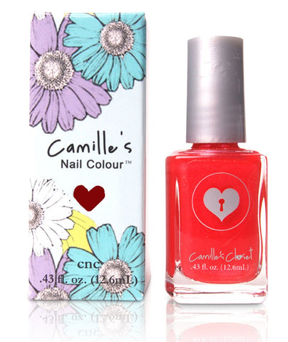 Camille's Closet Coral Booties Nail Polish-Makeup - Nails-Camille's Closet-Unicorn Goods