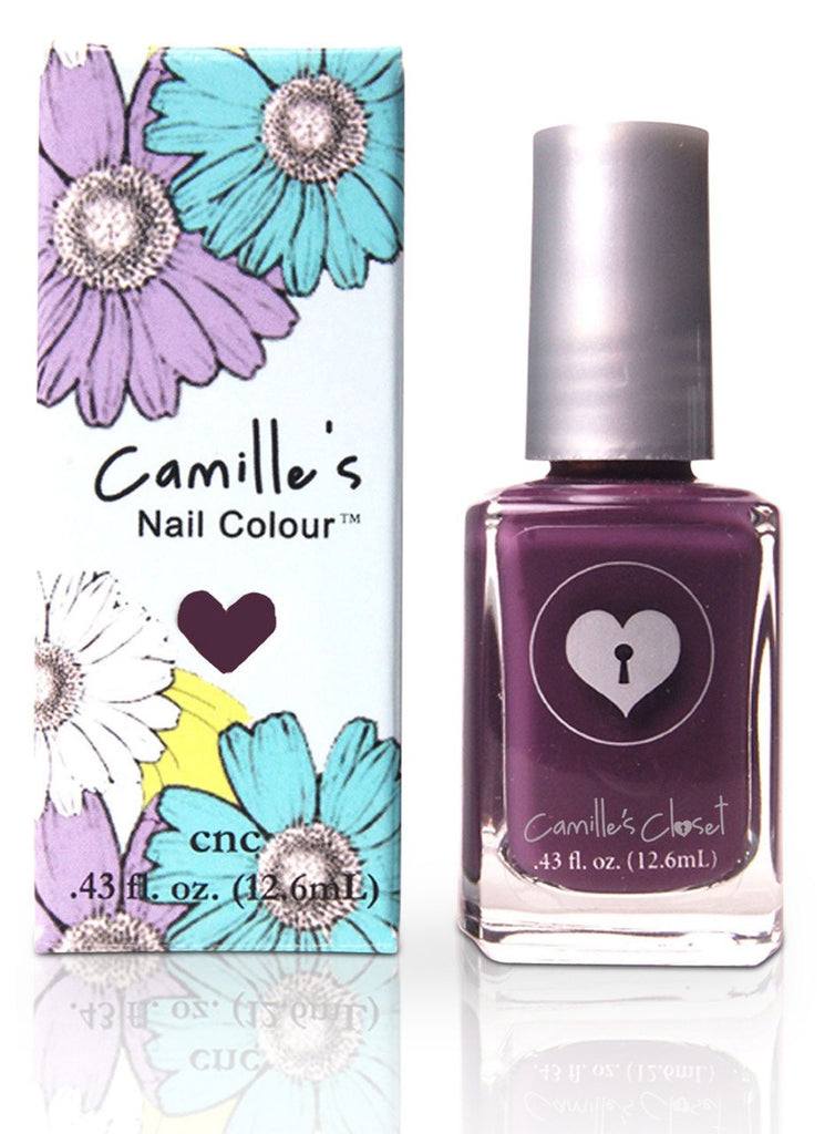 Camille's Closet Posh Plum Nail Polish-Makeup - Nails-Camille's Closet-Unicorn Goods