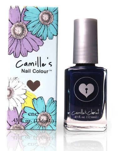 Camille's Closet Sexy Denim Nail Polish-Makeup - Nails-Camille's Closet-Unicorn Goods