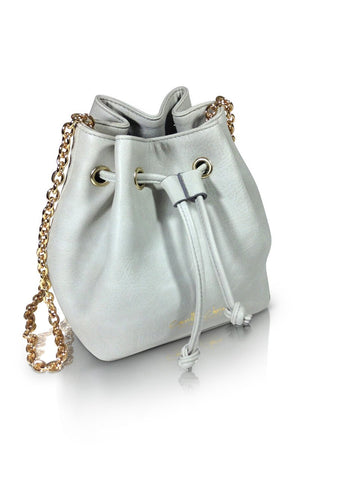 Camille's Closet Small Bucket Bag in Grey-Womens Purse-Camille's Closet-Unicorn Goods