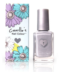 Camille's Closet Victorian Grey Nail Polish-Makeup - Nails-Camille's Closet-Unicorn Goods