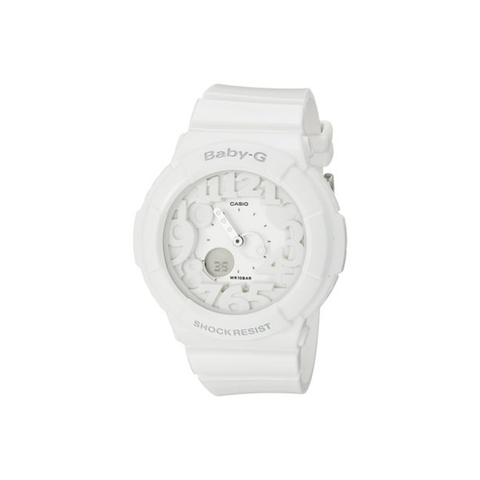 Casio Women's Baby-G White Plastic Analog Quartz Watch-Womens Watch-Casio-Unicorn Goods