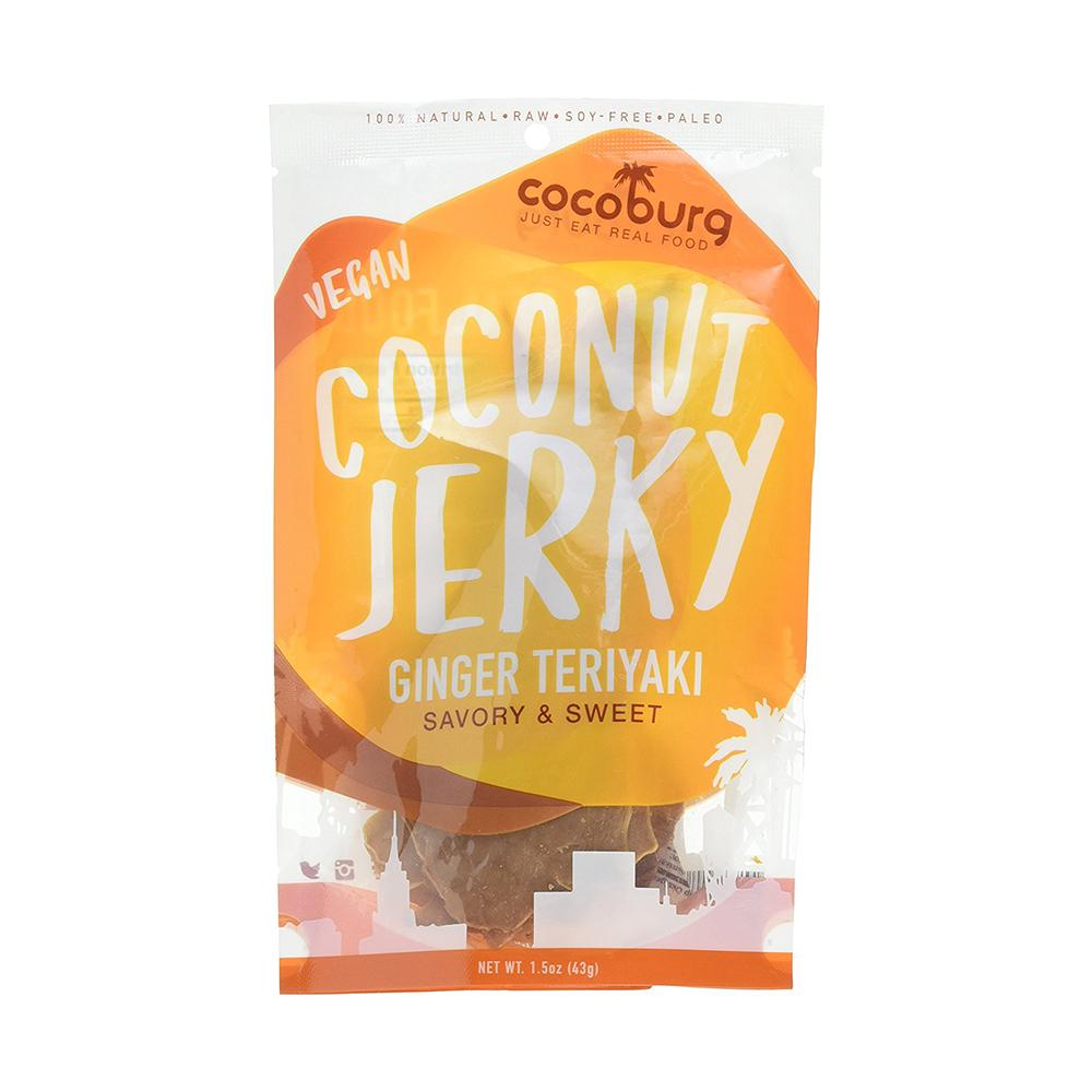 Cocoburg Ginger Teriyaki Coconut Jerky (case of 6)-Food - Snack-Cocoburg-Unicorn Goods