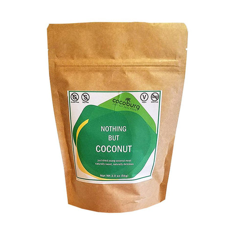 Cocoburg Nothing but Coconut, Coconut Jerky (case of 6)-Food - Snack-Cocoburg-Unicorn Goods